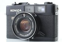 【EXC+5】 Konica C35 FD Rangefinder Film Camera Black 38mm f/1.8 From JAPAN #128