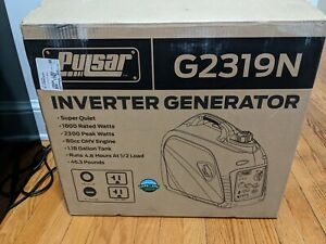 Pulsar G2319N 2300W Gas-Powered Portable Inverter Generator