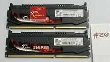 Set of G.Skill Sniper F3-14900CL9D-8GBSR 8GB (2x4GB) DDR3-1866 Desktop RAM #20