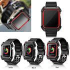 Apple Watch Sport Armband mit Schutzhülle iWatch Band Case Strap Loop 42/38mm