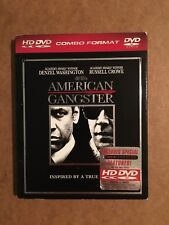 American Gangster HD DVD. Rare with slipcover. Russell Crowe, Denzel Washington