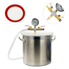 YaeTact 5 Gallon Stainless Steel Vacuum Chamber Kit Fast Ship, Best