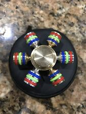 Heavy Brass Professional Fidget Spinner Autism Stress Relief Anxiety Fidgit