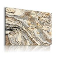 ROCKS TEXTURE PATTERN  CANVAS WALL ART PICTURE LARGE SIZES WS57 X MATAGA