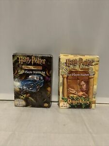 Harry Potter Trading Card Game 2 Player Starter Set X2 Used