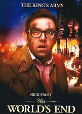 Nick Frost signed 8X10 photo - In Person Proof - Hot Fuzz