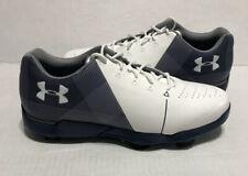 Under Armour Jordan Spieth 2 Junior Golf Shoes Blue White 3000220-100 Size 6Y