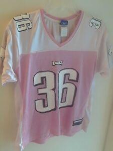 Philadelphia Eagles Westbrook 36 Pink NFL Reebok Jersey Girls Large Philly
