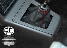 Manual De Punto Rojo De Cuero Real Gear Polaina se adapta a Peugeot 205 & GTi