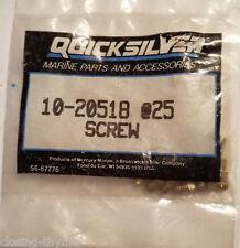 New Old Stock Quicksilver 12- 20518 @25 (Oty-25) Mercury Throttle Set Screw