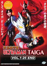 Ultraman Taiga DVD (Vol.1-26 end) with English Subtitle