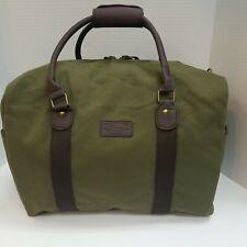 G H Bass Duffle Bag. Olive.