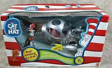 New Cat in the Hat Slow Vehicle + Figure Dr Seuss 2003 Play Along Open Box