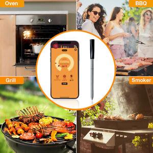 BBQ Thermometer Wireless Bluetooth Küche Grill Essen Ofen Temperatur für Küche
