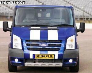 FORD-TRANSIT-VAN-MK7-Front-Bumper-spoiler-ST-SPORTLINE-ADD-ON-PRIMED