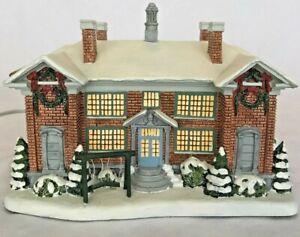 Norman Rockwell. Hawthorne Village Christmas Collection Village School 2004