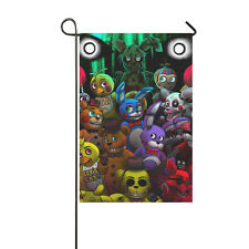 Five Nights at Freddy's Scary Game Yard Garden Flag 28 x 40 Two Sides Outdoor