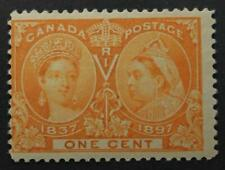 Canada #51, MNH OG, Queen Victoria Jubilee Issue 1897