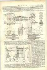 1893 el Tower Bridge 13 principales muelles mostrando superestructura de mampostería