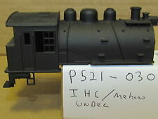 P521-030 0-4-0 DOCKSIDE LOCO  UNDECORATED SHELL NO CAB #  HO 1:87 SCALE