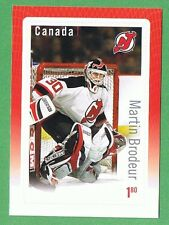 2015 CANADA GREAT CANADIAN GOALIE MARTIN BRODEUR OF THE NEW JERSEY DEVILS STAMP