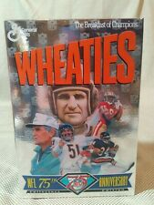 1994 Wheaties NFL 75th Anniversary Collectors Edition Unopened Cereal Box Payton