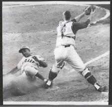1962 Orig Baseball Press Photo - Red vs Cubs