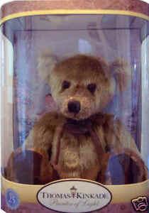 Thomas Kinkade 25th Anniversary Nanette Tan Bear NEW!