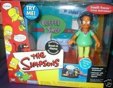 THE SIMPSONS BOWL-A-RAMA INTERACTIVE SET W/ PIN PAL APU