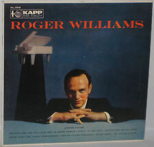 Roger Williams Self Titled LP 33rpm Album Kapp KL-1012 VG/VG+