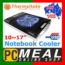 "Thermaltake Massive23 LX 23cm Fan Notebook Cooler 10~17"" Laptop USB LED Light TT"