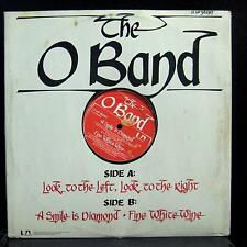 """O BAND look to the left, look to the right 12"""" Mint- 12-UP 36297 UK Red Vinyl"""