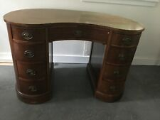 Vintage Maddox kidney shaped desk