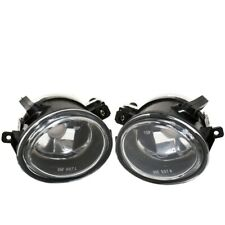 Fit 99-03 E39 M5/01-05 E46/01-05 E46 M3 Front Bumper Fog Lights Clear Lens