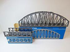 Bogenbrücke und Vorbrücke ,für K und M-Gleis,Märklin H0,7262,7263,OVP,KV