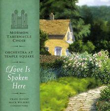 Mormon Tabernacle Choir - Love Is Spoken Here [New CD]