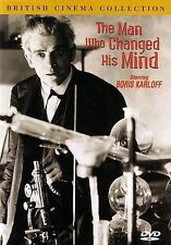 The Man Who Changed His Mind DVD, D.J. Williams,Bryan Powley,Clive Morton,Lyn Ha