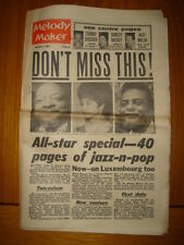 MELODY MAKER 1962 SEP 8 CHUBBY CHECKER SHIRLEY BASSEY
