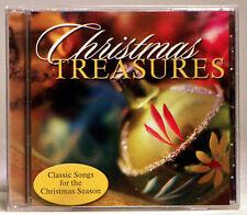 Christmas Treasures [Various Artists] (CD, 2003 Walnut Grove) Classic Songs!