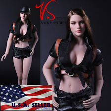 "1/6 Tactical Military Outfits Shorts Set For 12"" Phicen Hot Toys Female Figure"