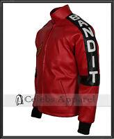 Biker Vintage Celebrity Burt Reynolds Smokey Bandit Leather Jacket - All Sizes