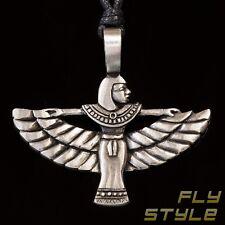 Isis Zinn Anhänger Amulett iset talisman ägypten göttin horus anubis silber ra