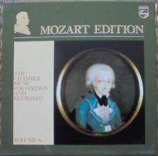 MOZART-ED.8: CHAMBERMUSIC FOR STRINGS & KEYBOARD: PHILIPS 6747381 - 12X LP NM