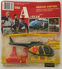 The A-Team Rescue Copter Rare Vintage 1983 Fleetwood 203-31 New In Package Toy