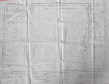 """ER RENK"", Sudan Area Map Printed on Cloth, 1936"