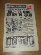 MELODY MAKER 1961 JULY 1 ACKER BILK KEN COLYER JOHNNY MATHIS BASIE PEGGY LEE +