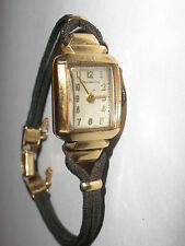 Vintage 14k gold Concord ladies watch 17 jewels Davis Hawley co