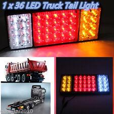 1Pc Waterproof 12V 36 LED Tail Light Rear Lamp Caravan For LED Truck Trailer Ute