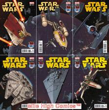 STAR WARS #7-12 MILE HIGH VARIANT SET (2015 Series) #1 Near Mint Comics Book