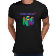 Old Nintendo 64 Retro Gaming console Unisex T- Shirts OLD SKOOL